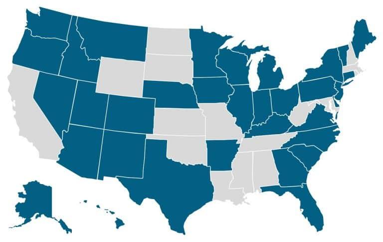 Clean Energy Legislative Academy Alumni States.